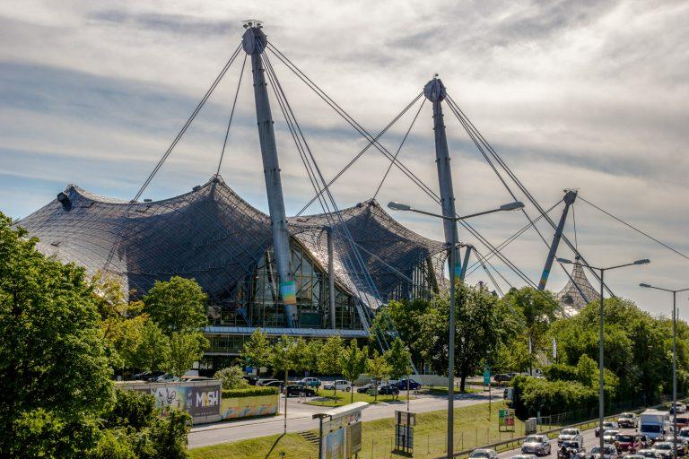 Olympiastadion München Handrugan