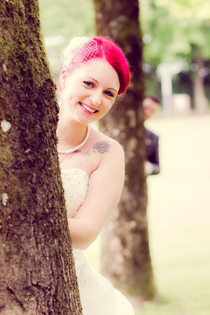 Süße Brautpaar Bilder