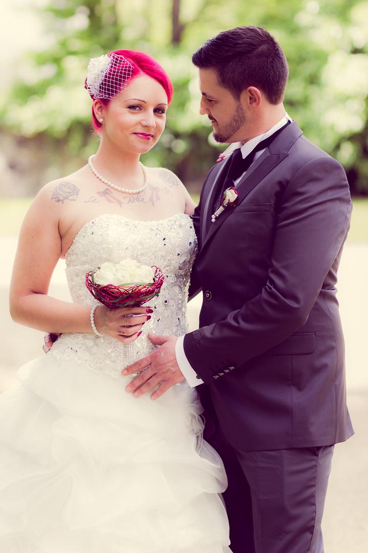 Hochzeitsbilder im Park