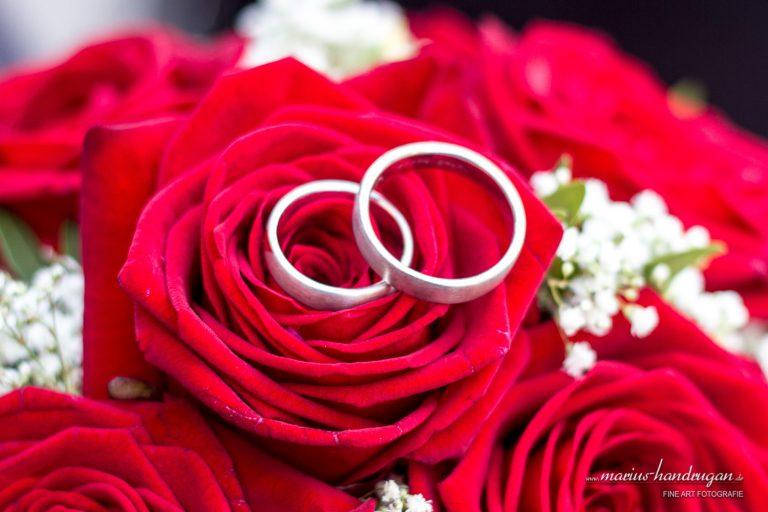 Brautstrauß Eheringe