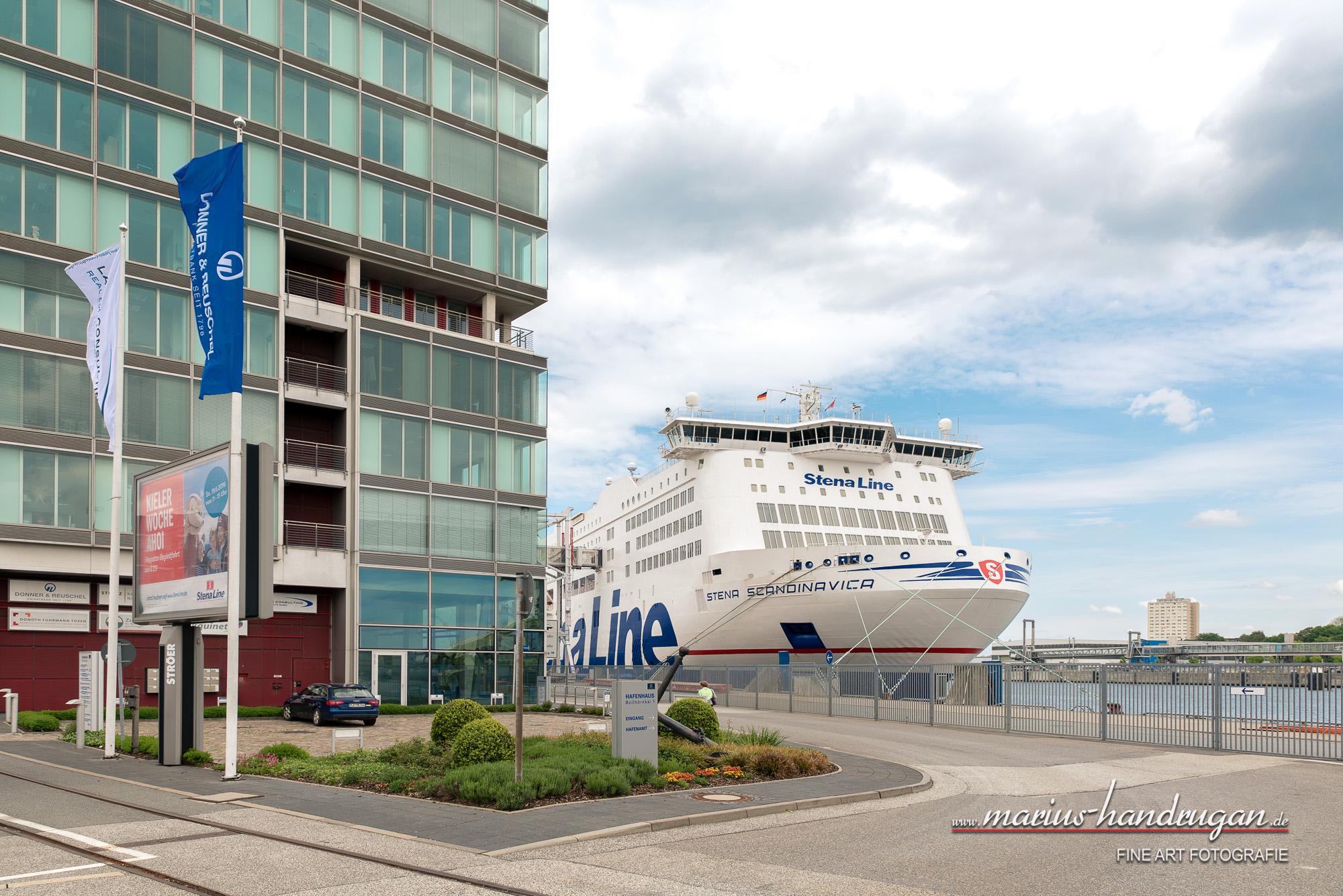 StenaLine im Hafen Kiel