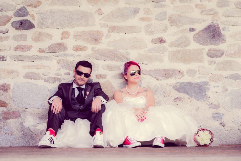 Ausgefallene Hochzeitsbilder