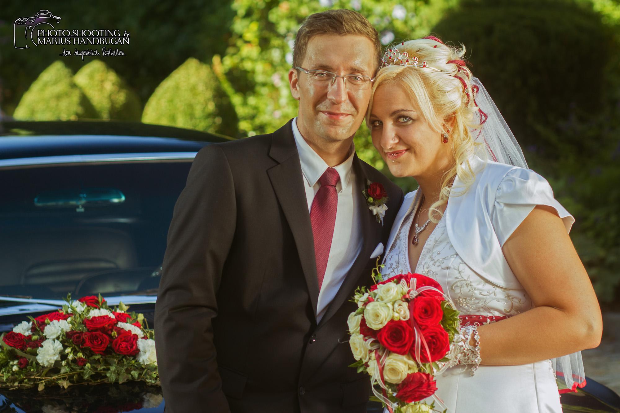 Romantische Brautpaarbilder