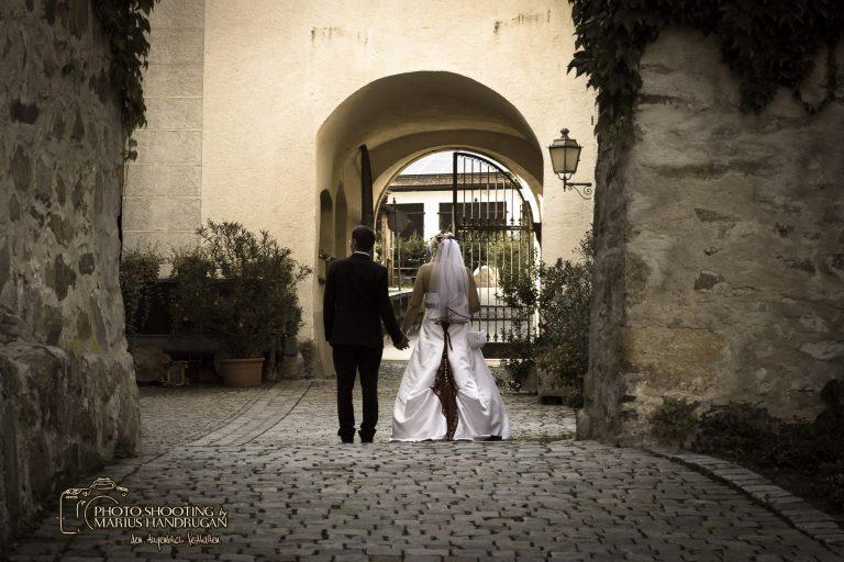 Brautpaarbilder im Schloss