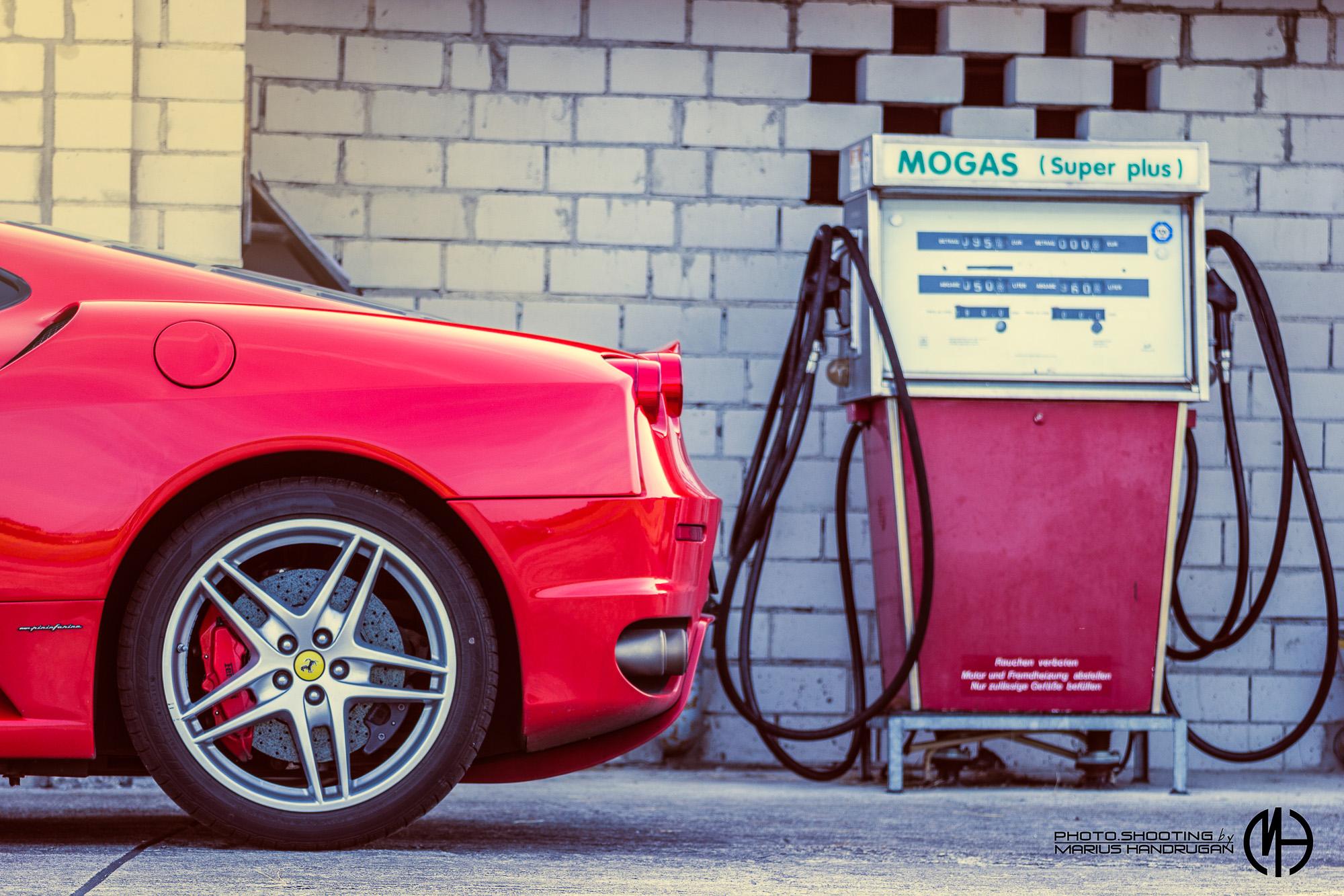 Autofotografie Vintage Ferrari