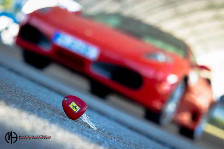 Autofotografie Ferrari Passau