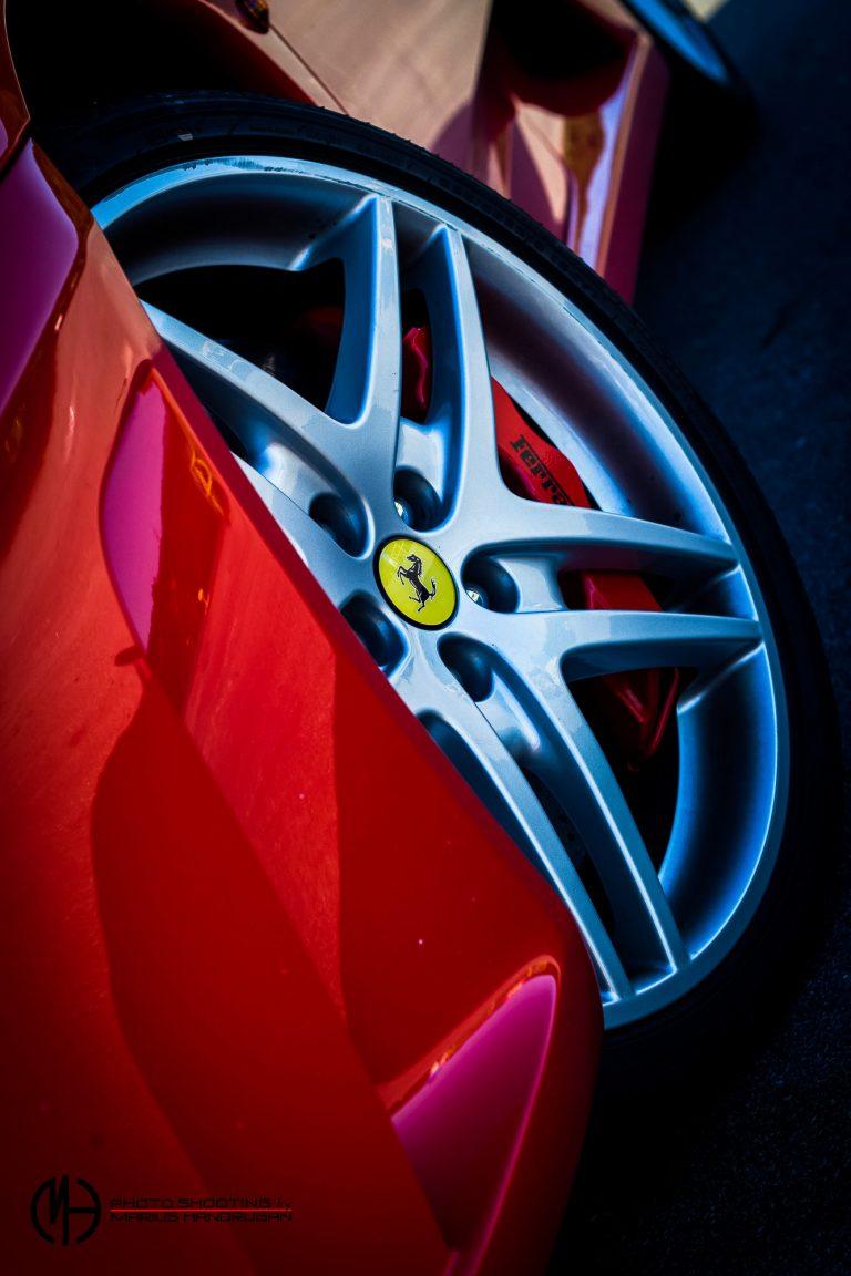 Ferrari Autohaus Car-Shooting