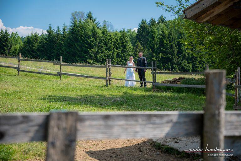 Hochzeit auf dem Land und Bauernhof