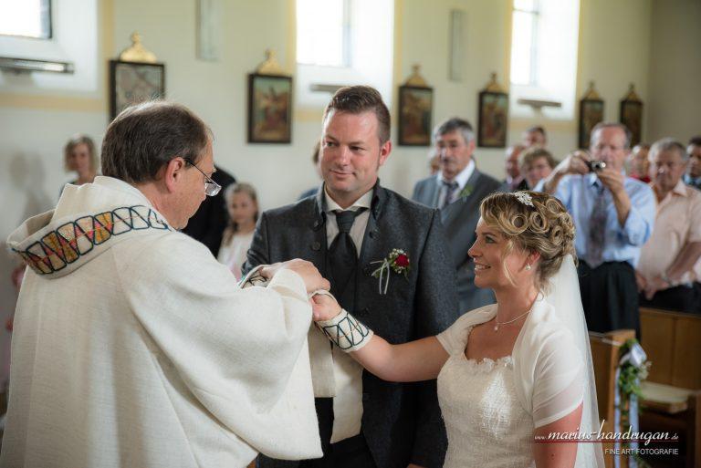 Kirchliche Trauung und Brautpaarshooting Passau