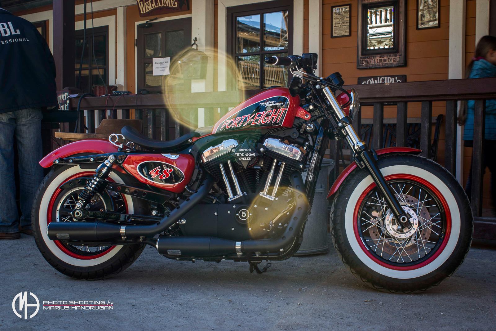 Profesionelle Motorrad Bilder