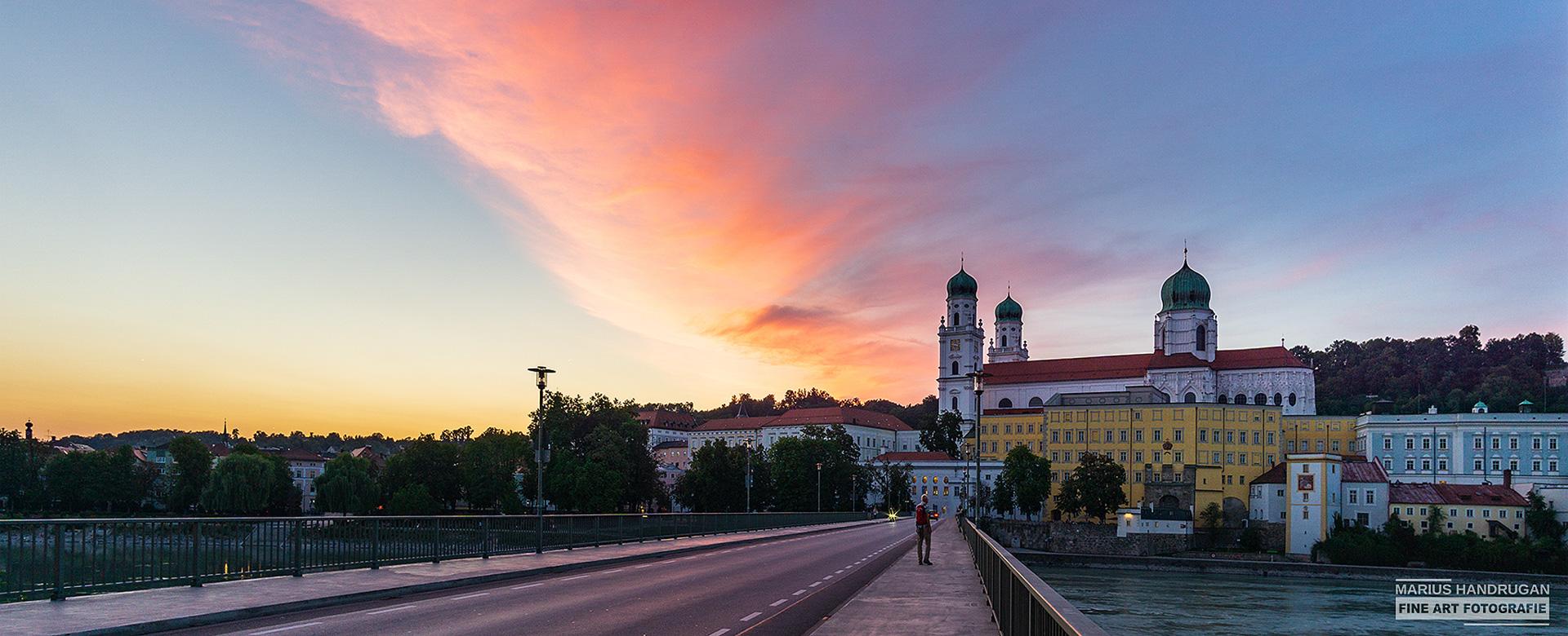 Passau Sonnenuntergang