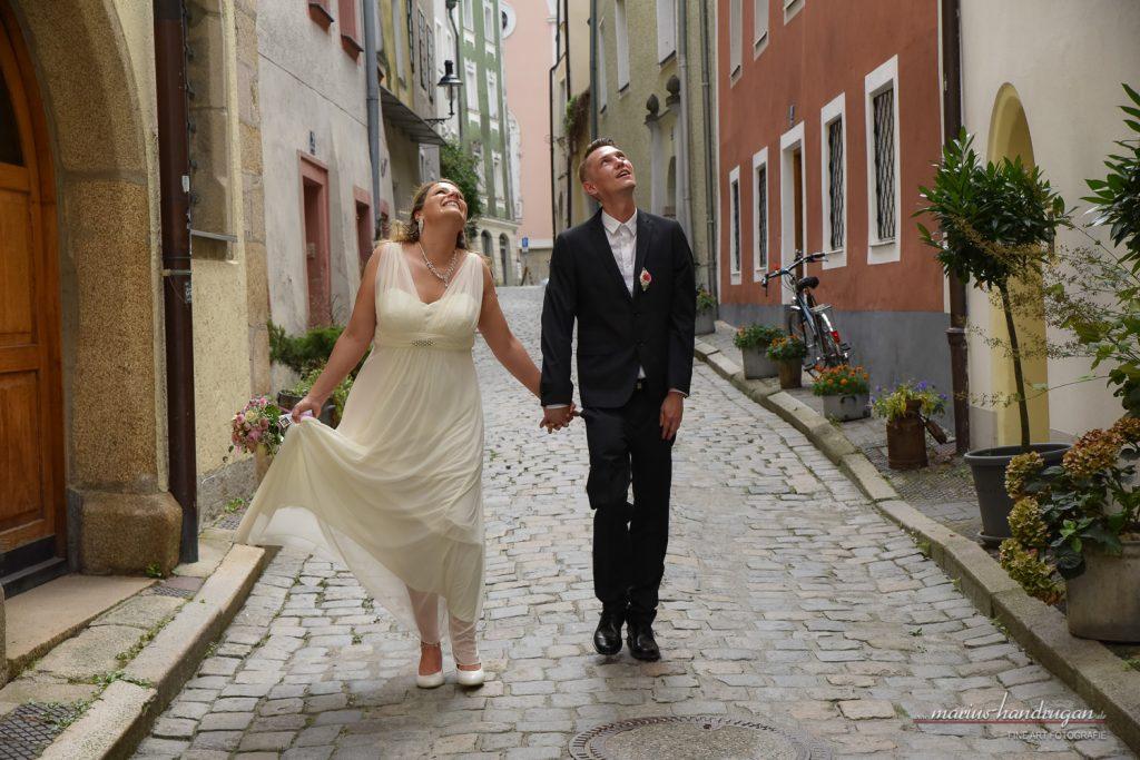 Schönes Hochzeit in Passau