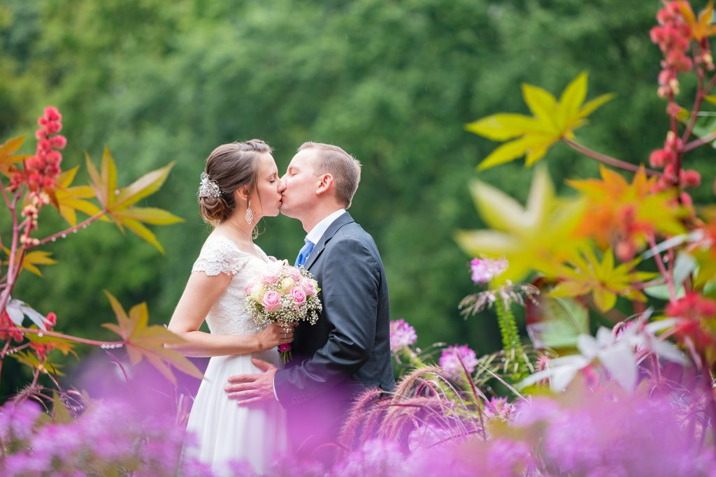 Wunderschöne Brautpaarfotos in Bad Füssing und Pocking